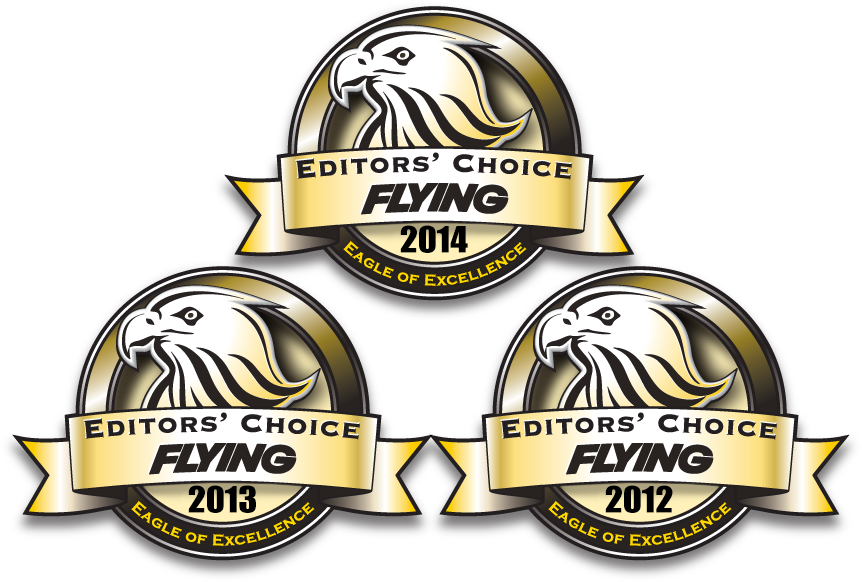 Flying Magazine Editors Choice Award