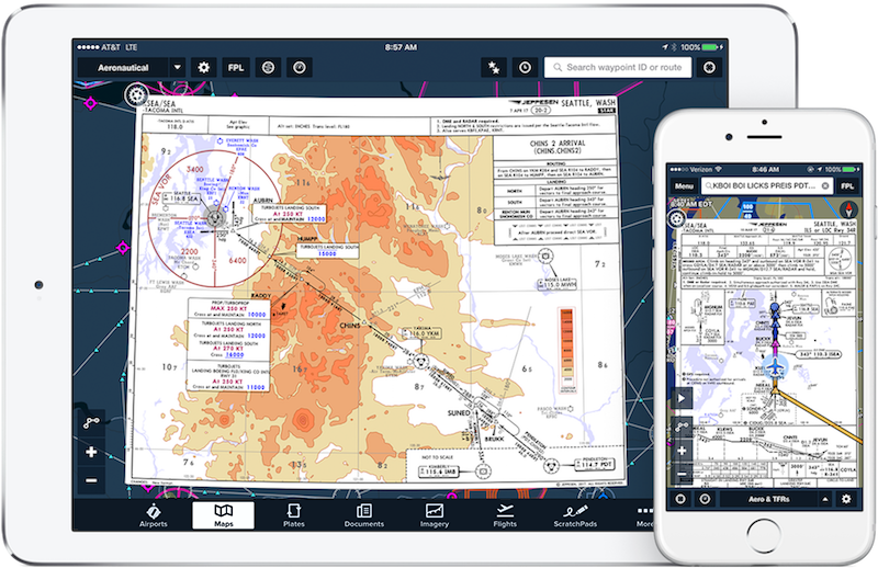 ForeFlight Electronic Flight Bag And Apps For Pilots - Us aviation turbulence map