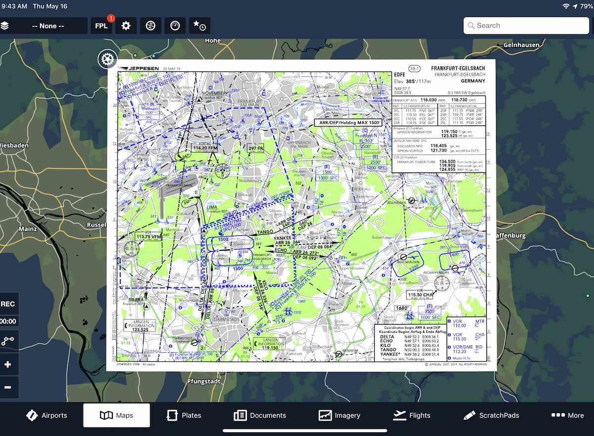 ForeFlight - Europe Data Overview