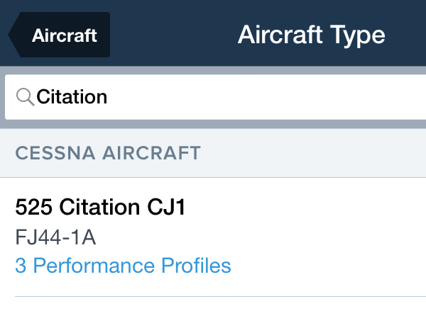 ForeFlight - Performance for Personal Aviation