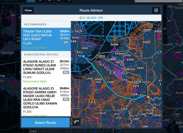 ForeFlight - File IFR and VFR Flight Plans