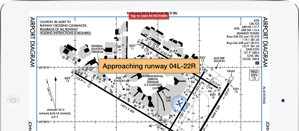 Airport Moving Map