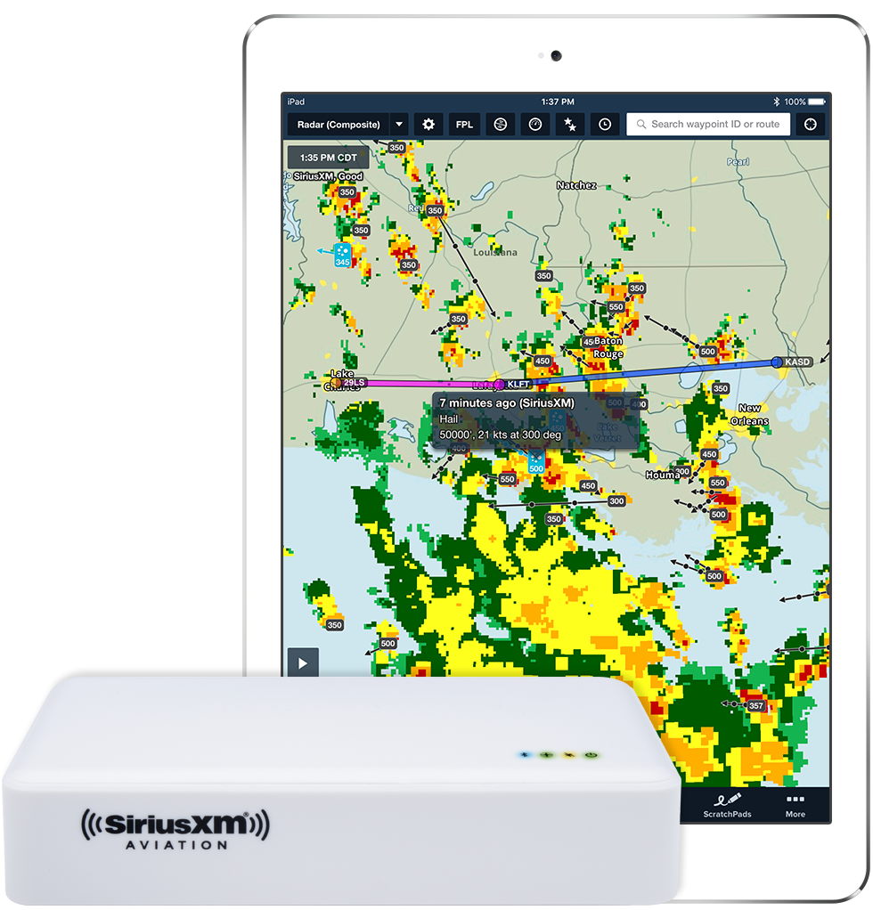Xm Radio Weather Channel >> Foreflight Connect With Siriusxm Sxar1