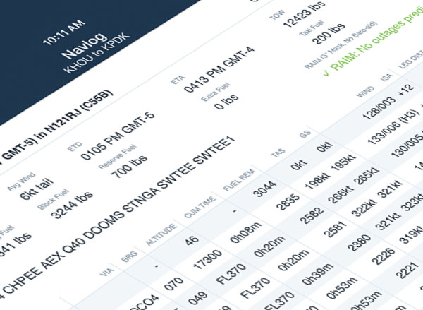 Performance for Personal Aviation - ForeFlight