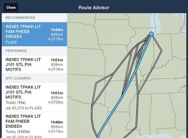 Foreflight Performance Flight Planning For Flight Departments